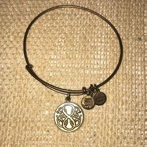 Gold, energy charm bracelet